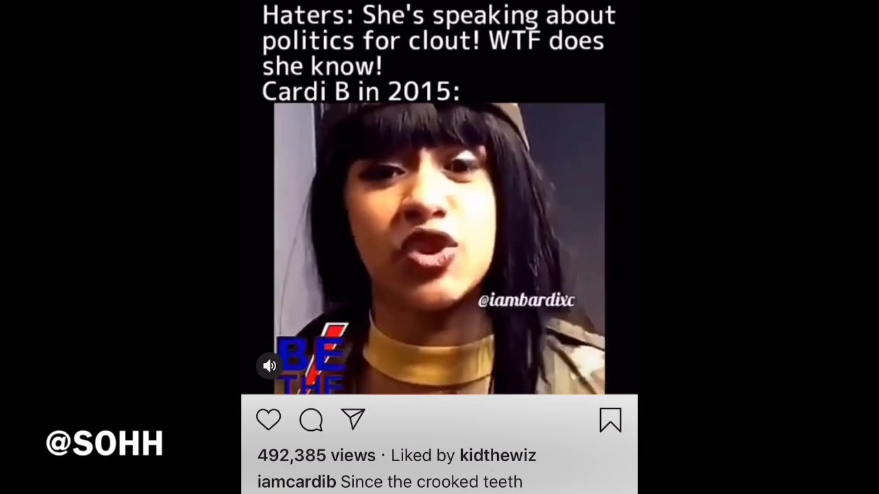 Cardi B Uses 2015 Clip To Prove A Major Point Since The Crooked