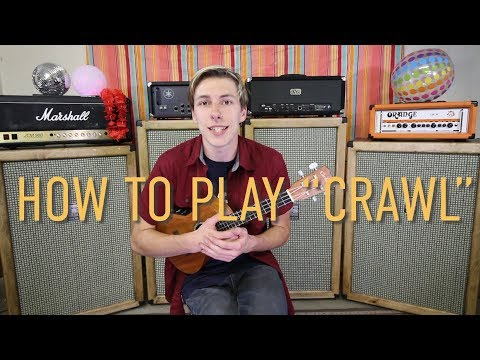 Not My Weekend - Crawl (Ukulele Tutorial)