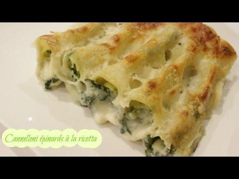 cannelloni-épinards-à-la-ricotta