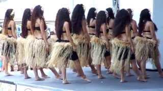 Tahitian Dance - Lawndale Ho'olaule'a 2013 - Lilinoe Halau