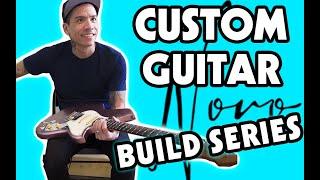 Let's Make A Custom Guitar!   Novo Guitars Build Series - Ep.1   Guitar Vlog