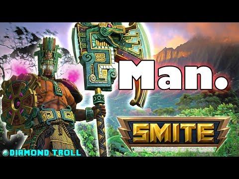 Smite: Boom Chaacalaka- Chaac Solo Lane Gameplay