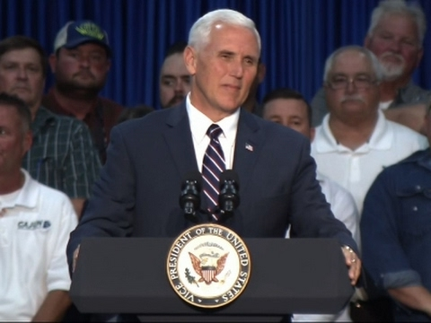 Pence Praises Trump, Condemns Manchester Attack