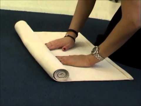 Unroll A Rug Montessori Lesson Youtube