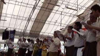 Myanmar Thingyan ( Water Festival ) Singapore p-3
