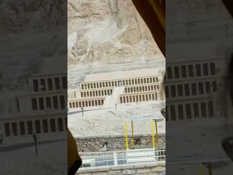 Al Deir Al Bahari Temple Egypt