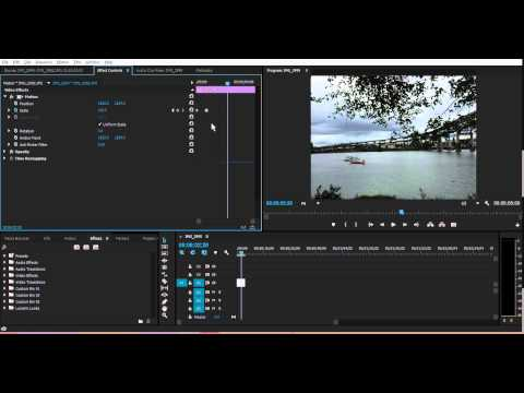 How To Zoom into sVideo in Adobe Premiere Pro CS6  CC