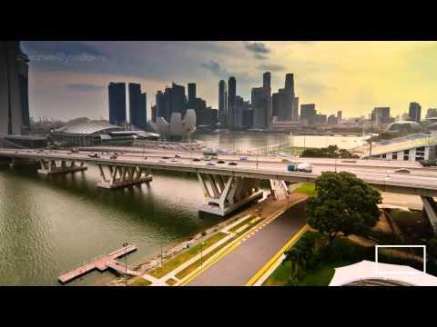 Singapore time lapse in HD - எழில்மிகு சிங்கப்பூர்