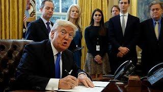ABD'de tartışmalı petrol boru hattı projeleri Trump'ın imzasıyla hayata geçiyor