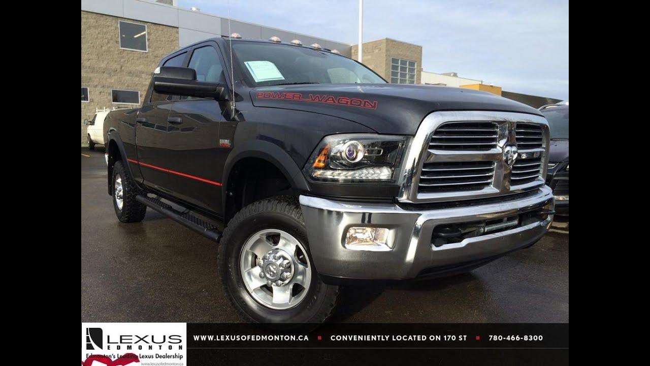 "2015 Ram 2500 >> Used Grey 2013 Ram 2500 4WD Crew Cab 149"" Power Wagon Review Drumheller Alberta - YouTube"