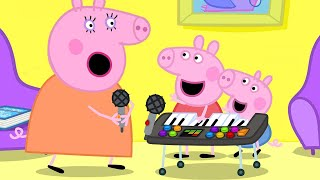 Peppa Pig Official Channel  🎹 Play Funny Music with Peppa Pig