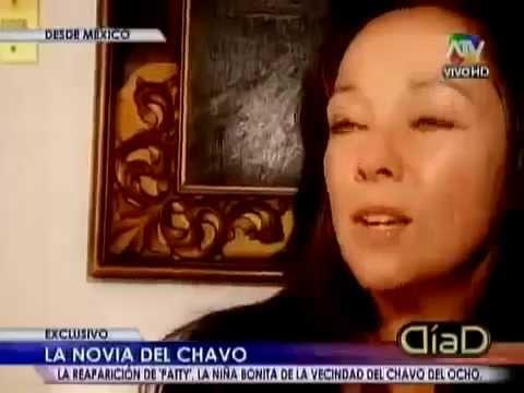Reportaje a Paty del Chavo del 8, Ana Lilian de La Macorra.