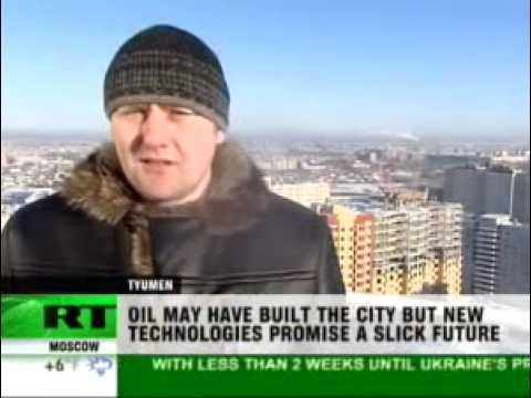 Tyumen city: breaking from oil dependency