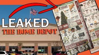 LEAKED BLACK FRIDAY TOOL DEALS (2019) THE HOME DEPOT