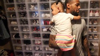 NBA PLAYER SHOWS ENTIRE (INSANE) SNEAKER COLLECTION !!!