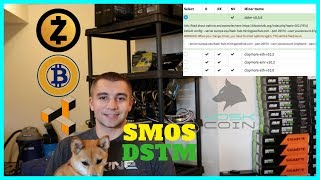 The Fastest Equihash Miner DSTM NOW on smOS - DSTM Miner Guide