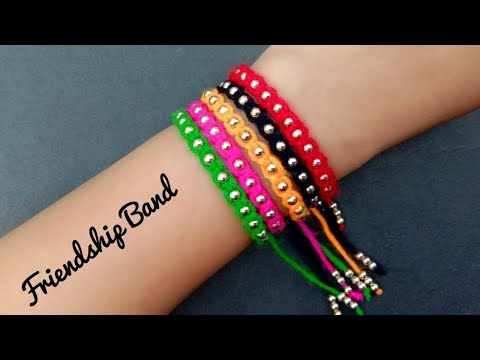 How To Make//Friendship Band//Friendship Day Special// Useful & Easy