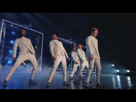 Backstreet Boys 4k: Larger Than Life, Larger Than Life show, Las Vegas  Nov 08, 2017