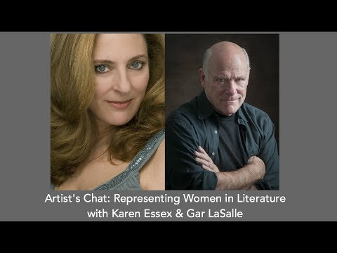 Artist Chat: Representing Women in Literature