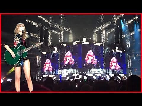 Taylor Swift Surprised US at Her Reputation Tour Concert!!