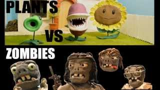 A Claymation, Plants vs Zombies Film Action