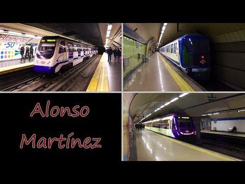 Estación De Alonso Martínez : Metro De Madrid