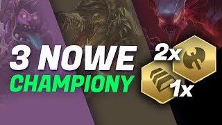 3 NOWE CHAMPIONY W TEAMFIGHT TACTICS!