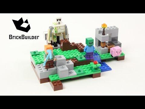 Lego Minecraft 21123 The Iron Golem - Lego Speed Build
