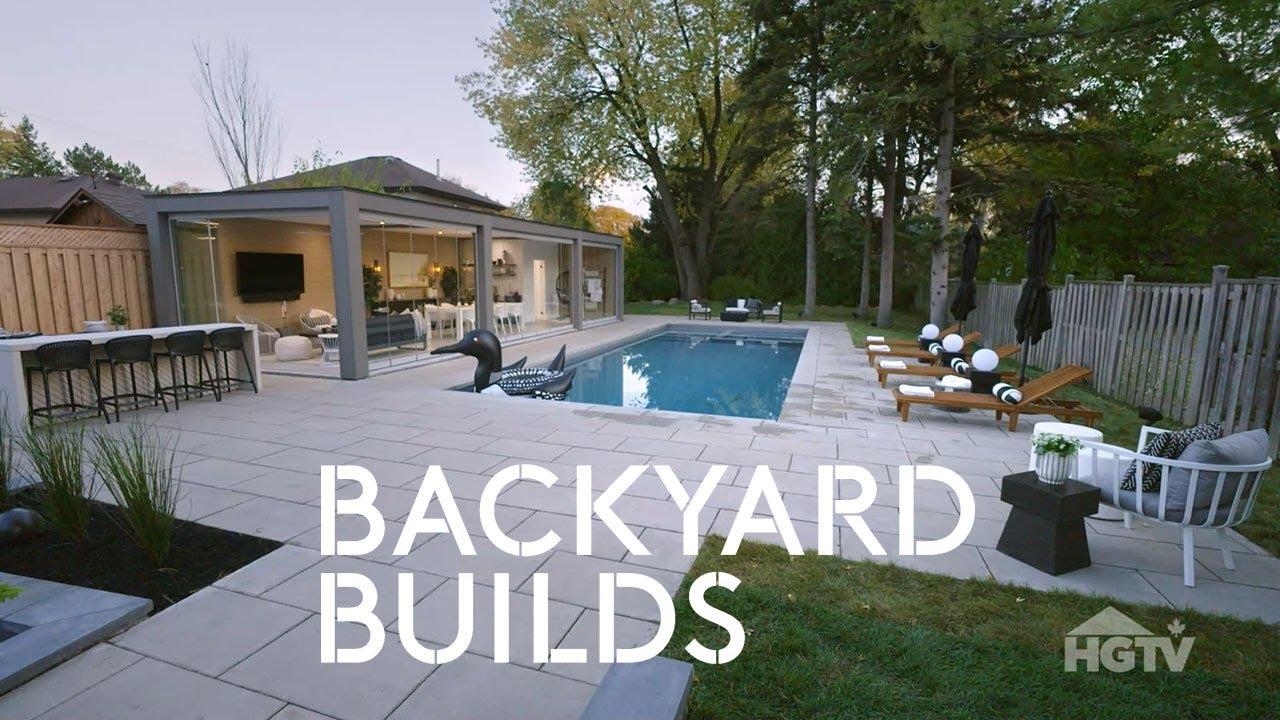 sonia peter luxury staycation backyard builds
