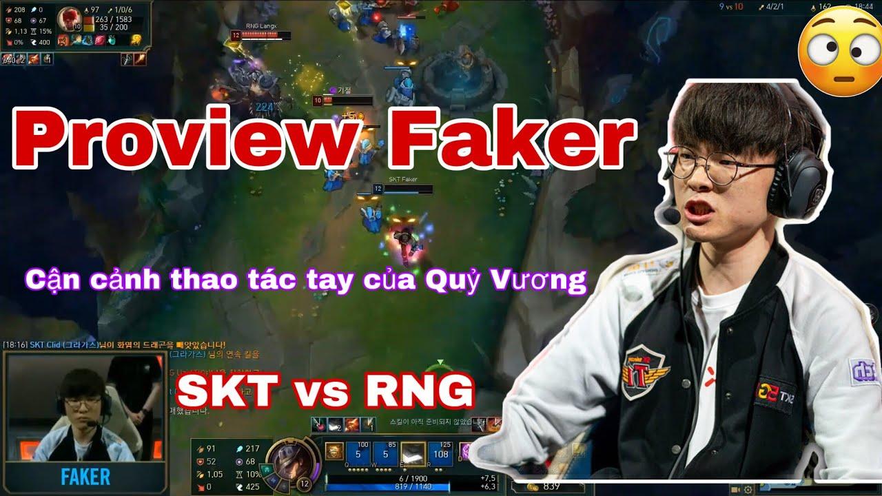 Proview Faker – Màn hình máy Faker đánh Twisted Fate trận SKT vs RNG – Ngày 2 Vòng bảng CKTG 2019