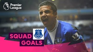 Excellent Everton Goals | Cahill, Sigurdsson, Mirallas | Squad Goals