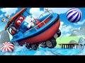 Polisbilar för barn - Flygplanet Penny blir den nya medlemmen i Bilpatrullen - Bilfilmer för barn