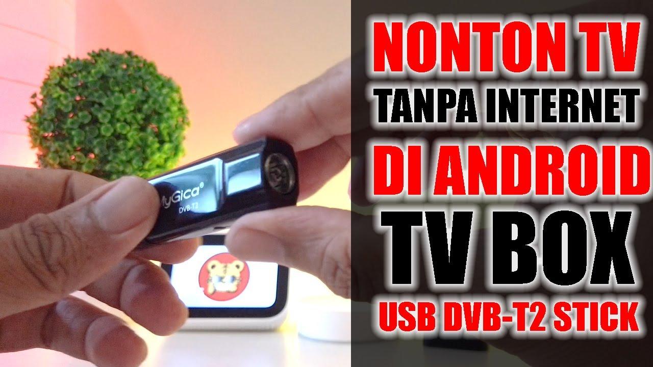 Nonton TV tanpa Internet di Android TV Box - 31 Saluran TV Digital Indonesia Gratis