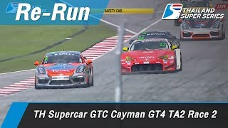 TH Supercar GTC Cayman GT4 TA2  Race 2  : Sepang International Circuit Malaysia 1 Api 2018