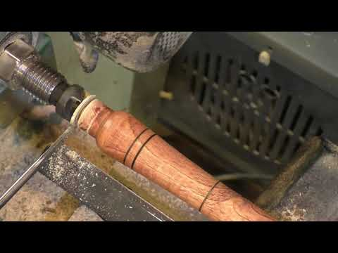 Making a wood turning tool from a router bit