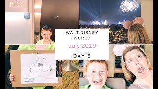 Theme Park View Room at Bay Lake Tower and Animal Kingdom - Day 8 - Walt Disney World Vlog