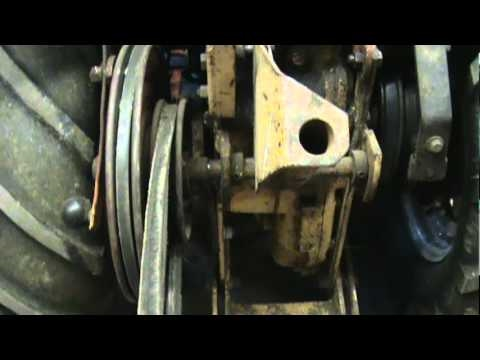 Simplicity and Allis Chalmers How to Mount the rear PTO For Tillers