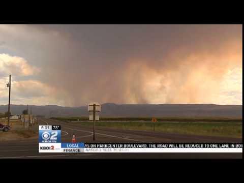 Firefighters Continue to Battle Soda Fire in Owyhee County