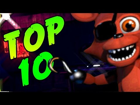 TOP 10 STRONGEST FNAF WORLD CHARACTERS!!