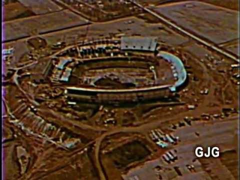 Buffalo Bills Stadium >> Buffalo Bills Stadium Construction 1972 - YouTube