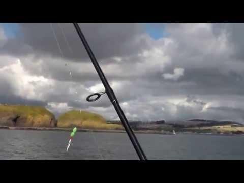 Mackeral Fishing Off Stonehaven 31 Aug. 2014.