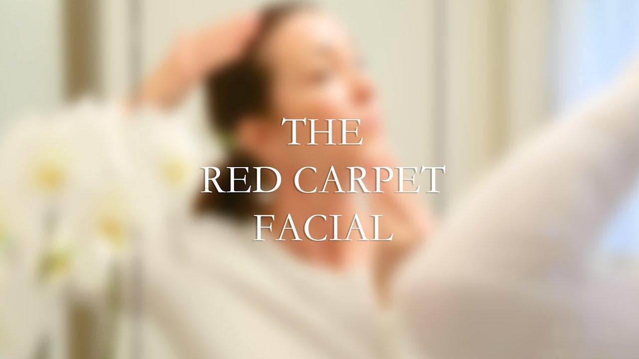 Reini Modern Skin Care The Red Carpet Facial Youtube