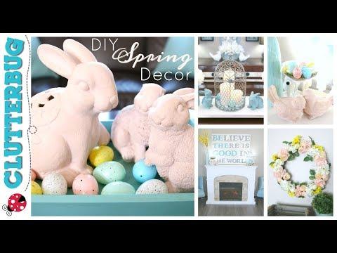 DIY Spring Dollar Store Decor Ideas - Dollar Tree & Dollarama