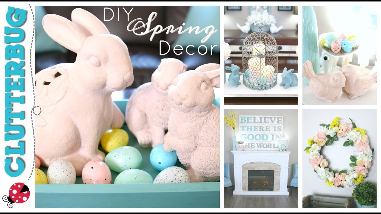 DIY Spring Dollar Store Decor Ideas