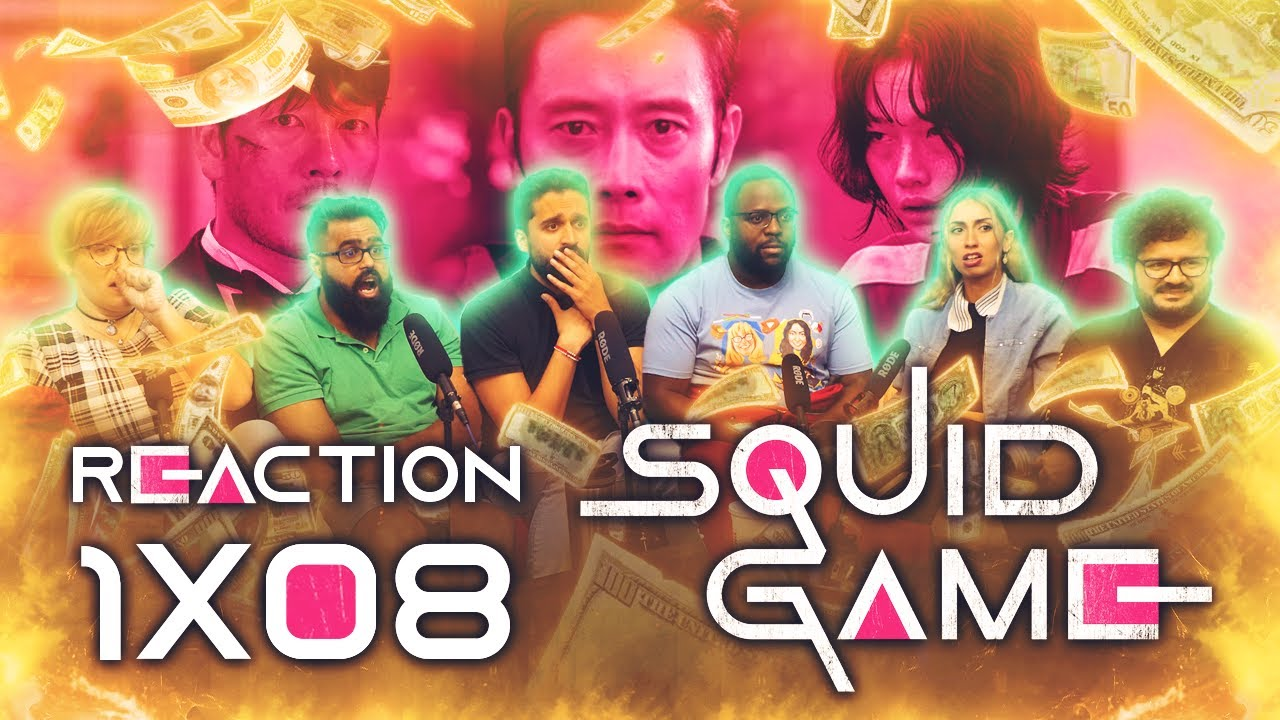 Download Squid Game - 1x8 Front Man - Group Reaction