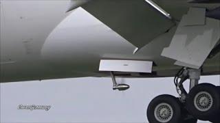 UpClose RAT Views on Qatar A7-BCY Boeing 787 Dreamliner Test Flight @ KPAE Paine Field