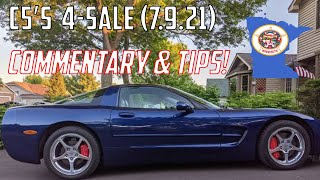 C5 Corvettes FOR SALE TODAY in Minnesota (7/9/21) Buying Tips &  Commentary!