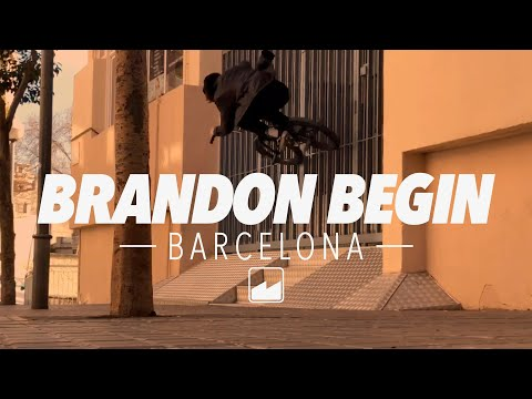 MERRITT BMX: Brandon Begin Barcelona