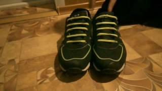 как зашнуровать кроссовки на 5 дырок