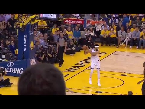 JaVale McGee MISSED DUNK, BLOCKED BY RIM! Game 1 Cavaliers vs Warriors 2018 NBA FINALS